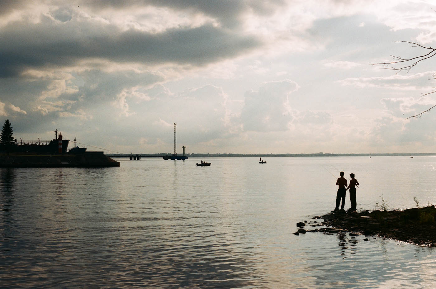 Выход в море. Канонерский остров. Фото: Алексей Абакумов. Санкт-Петербург, 2014 год