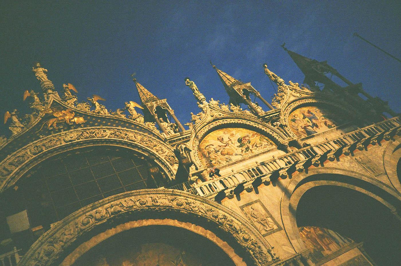 Сан Марко Фото: Алексей Абакумов. Пленка. Венеция, Италия, 2012 год