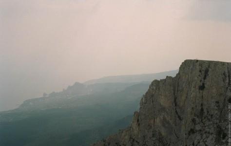 На горе Ай-Петри. Украина, 2013 год
