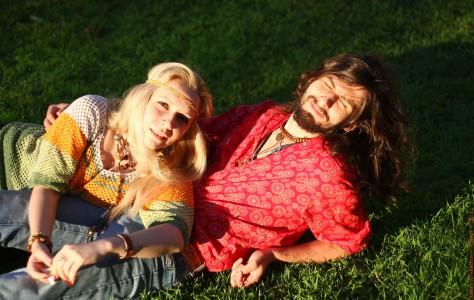 Неформалы. На снимке Инесса Годунова и Алексей Жуков. Санкт-Петерубрг, 2012 год