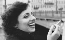 """""""Parisienne"""". На снимке Елена Дробышева. Визаж - Ольга Андреева. Санкт-Петербург, 2011 год"""
