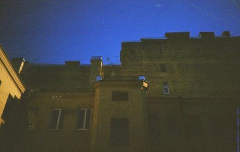 Дворовая архитектура. Санкт-Петербург, 2013 год