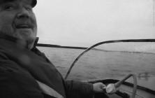 Михаил Блоков - у штурвала петербургский типограф и предприниматель. Приморск, 2012 год