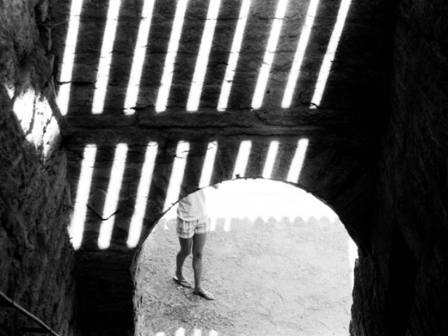 "Крепость ""Орешек"", Фото: Алексей Абакумов. Пленка. Шлиссельбург, 2010 год"